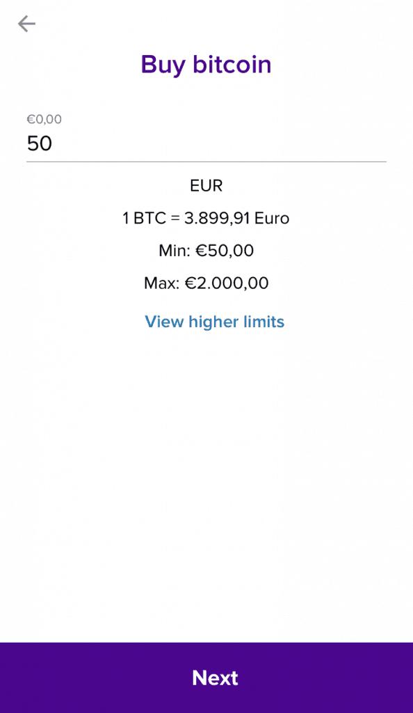 Abra Bitcoin kaufen