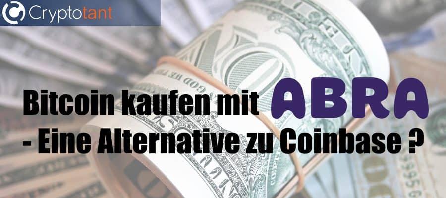Bitcoin kaufen mit Abra