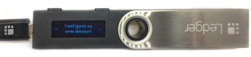 Ledger Nano S - New Device