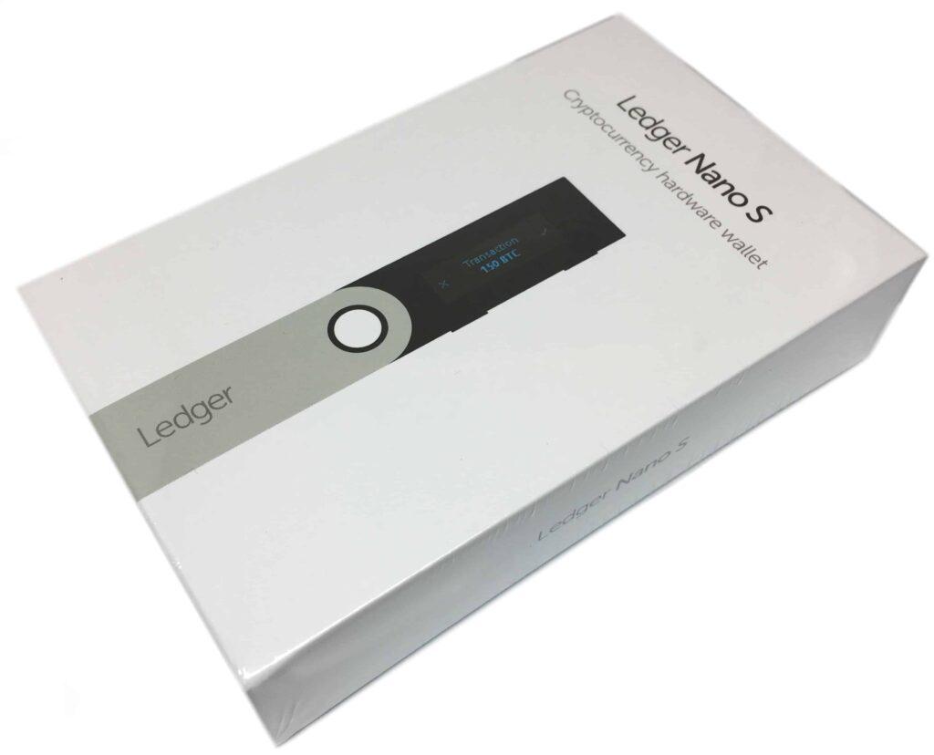 Ledger Nano S Verpackung