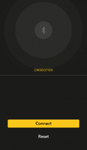 CoolBitX App - Verbinden