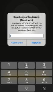 CoolBitX App - Bluetooth Koppelung