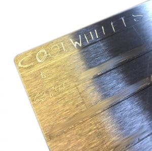 DIY Cold-Wallet - Recovery-Seed eingraviert