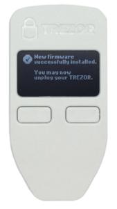 Trezor One - Installation der ersten Firmware