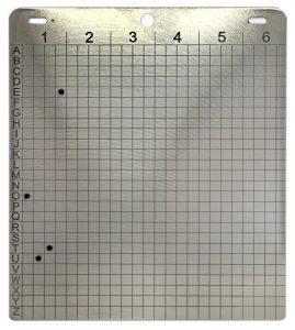 Steelwallet - Mit wasserfestem Stift beschriftet