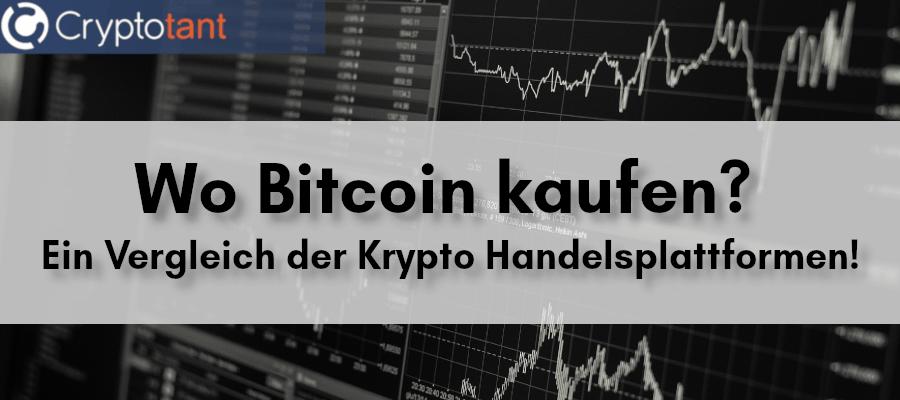 Wo Bitcoin Kaufen ?