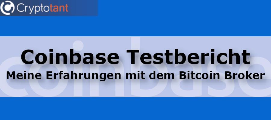 Coinbase Testbericht